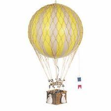 Medium Hot Air Balloon Model in Yellow