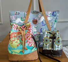 820 Kiera Beach Bag & Natalie 3 Bags Combo - 15% Off!