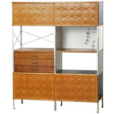 Charles & Ray Eames Shelf   From a unique collection of antique and modern bookcases at http://www.1stdibs.com/furniture/storage-case-pieces/bookcases/