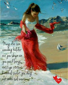 Lekker Dag, Goeie Nag, Goeie More, Afrikaans Quotes, Morning Blessings, Morning Messages, Beautiful Words, Good Morning, Things To Think About