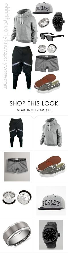 """Untitled #29"" by ohhhifyouonlyknew ❤ liked on Polyvore featuring NIKE, American Eagle Outfitters, Vans, Hot Topic, Young & Reckless, Blue Nile, Brera Orologi, Ray-Ban, my creations and casual"
