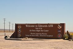 Edwards Air Force Base, CA spent almost 4 years of my life here. Got married in 1974. Wife enjoyed out here as well.