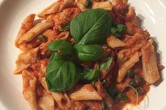 Voor de fanatieke sporters onder ons, of gewoon voor de vis of pasta liefhebbers natuurlijk: een eiwitrijke pasta met tonijn en ansjovis!