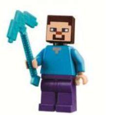 Lego presenta su colección de personajes y mundos Minecraft