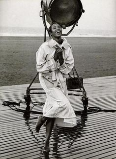 Naomi Campbell by Peter Lindbergh, 1988