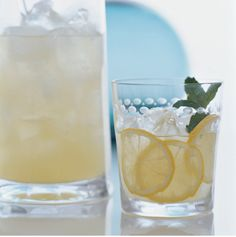 Limoncello Collins drink cocktail   Get the recipe at adacollection.com   Ada blog