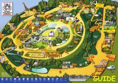 Atlanta Zoo map  Maps  Pinterest  Zoos