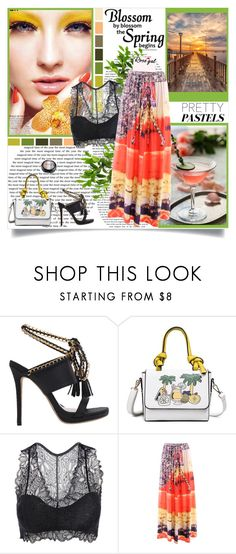 """""""RoseGal 90"""" by followme734 ❤ liked on Polyvore featuring La Femme and Seed Design"""