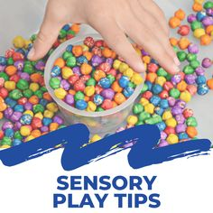 Are you new to sensory play and sensory bins for toddlers and preschoolers? Here are some sensory play tips to help you make the most out of sensory bins. #sensoryplay #sensorybins #sensory #sensoryactivities #preschool #toddlers