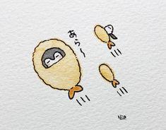 Cute Food Drawings, Cute Little Drawings, Cute Kawaii Drawings, Cute Animal Drawings, Kawaii Art, Cute Bunny Cartoon, Cute Kawaii Animals, Kawaii Doodles, Cute Doodles