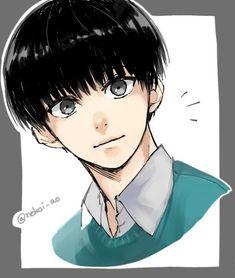 Hot Anime Boy, Anime Guys, Manga Anime, Chibi Tokyo Ghoul, Mob Physco 100, Kawaii, Aesthetic Anime, Mystic, Character Design