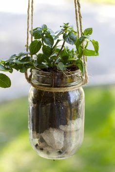 diy ideen einmachgläser pflanzenbehälter aufhängen dekoideen