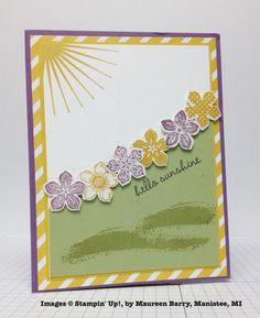 Maureen Barry, card swap, Stampin' Up!