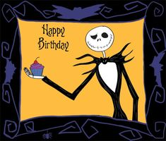 nightmare before christmas happy birthday Happy Birthday Jack Skellington Nightmare Before Christmas | Eva's  nightmare before christmas happy birthday