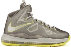 Nike Lebron X Mens Basketball Shoes 541100-007 Sport Grey 11 M US Nike. $157.65