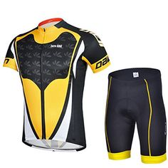 Zorro Mall 2015 Stylish Dawn Cycling Bicycle Bike Men Cozy Suits (Jersey + Pants) Yellow Black - http://ridingjerseys.com/zorro-mall-2015-stylish-dawn-cycling-bicycle-bike-men-cozy-suits-jersey-pants-yellow-black/