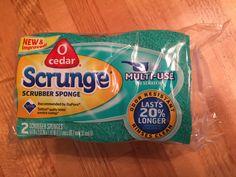 Free O Cedar Srunge Sponge #freestuff #freebies #samples #free
