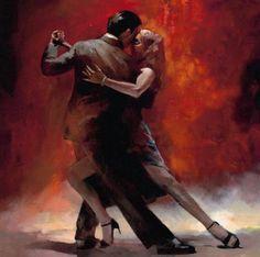 yeni modern klasik soyut büyük sanat yağlıboya tuval sevgilisi tango dans(no çerçeve(China (Mainland))