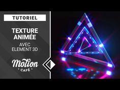 [TUTO] Texture animée avec Element 3D - YouTube