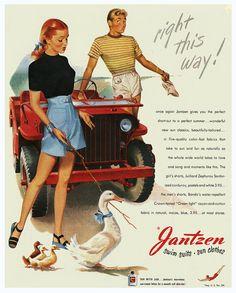 Yield For Geese - Jantzen 1946