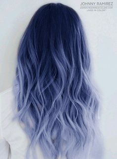 Andreas Morris — 85 silver hair color ideas and tips for dyeing . Andreas Morris — 85 silver hair color ideas and tips for dyeing . Cute Hair Colors, Pretty Hair Color, Hair Dye Colors, Ombre Hair Color, Blue Ombre, Silver Ombre, Pastel Hair Colors, Different Hair Colors, Colorful Hair