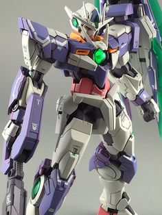 GUNDAM GUY: RG 1/100 00 Qan[T] - Painted Build