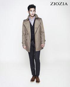 Kim Soo Hyun (김수현) for ZIOZIA (지오지아) 2012 F/W #15 #KimSooHyun #SooHyun #ZIOZIA