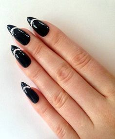 50 Easy Stiletto Nails Designs and Ideas