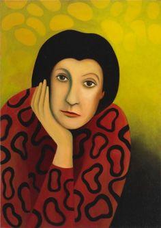 Etty Hillesum ~ A painting by Chrisje van der Heyden-Ronde  #EttyHillesum