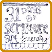 Art by Erin Leigh: 31 Days of Scripture Art Journaling::Day 8: Art Journaling Inspiration From Really Great People