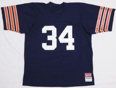 Vtg-Mens-CHICAGO-BEARS-34-Jersey-Shirt-LARGE-Blue-MESH-Walter-Payton-Football