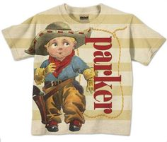 Cowboy Toddler Shirt Personalized Western by SimplySublimeBaby, $24.95