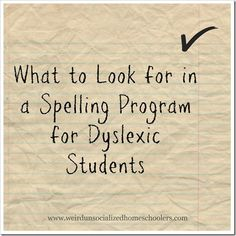 """Along with difficulty reading, difficulty spelling is a hallmark of dyslexia. While dyslexia is something that can't be """"cured,"""" there are a great number of tools to help a dyslexic overcome many of its challenges, including difficulty spelling"""
