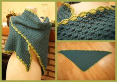 * Sam: Crocheted shawl