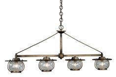 Vaxcel Lighting P0031 Jamestown 4 Light Chandelier Parisian Bronze Indoor Lighting Chandeliers