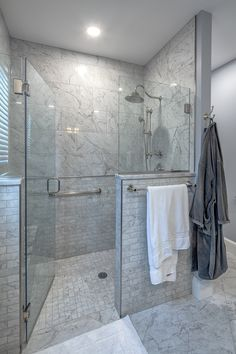 """Download the free Homeowner's Guide to """"Walk-In Shower Design Ideas and Remodeling Tips"""" Bathroom Shower Designs, Bathroom Shower Remodel, Walk In Bathroom Showers, Small Shower Remodel, Small Bathroom With Shower, Master Bathroom Shower, Tub Remodel, Walk In Shower Designs, Bathroom Design Small"""