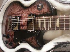 Gibson Les Paul with custom Hieroglyph graphic by www.beyondcustomguitars.com