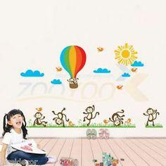 Vinilo infantil ni os en el arbol pegatinas decorativas for Pegatinas decorativas para bebes