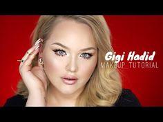 GIGI HADID Met Gala 2015 - PROM Makeup Tutorial - YouTube