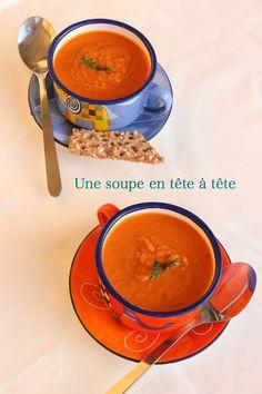 Une deux trois... cerises: Soupe de pois chiches à la tomate