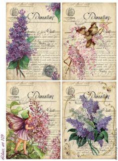 """Decoupage for """"Flowers of Paris (decoshop)"""". Discussion on LiveInternet - Russian Service Online Diaries"""