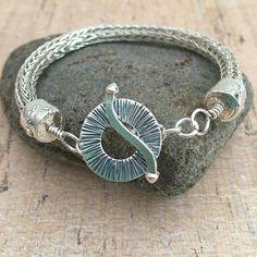 OOAK sterling silver bracelet gift for her fine silver statement jewelry mom classic bangle I Love Jewelry, Modern Jewelry, Statement Jewelry, Jewelry Design, Fine Jewelry, Luxury Jewelry, Jewelry Making, Braided Bracelets, Tiffany Jewelry
