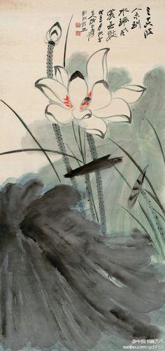 Lotus by Daqian Zhang