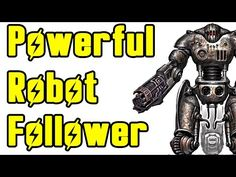 Fallout 4: Best Robot Companion (Sentry Bot Guide) - YouTube