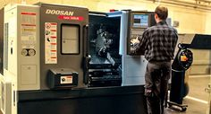 We use professional DOOSAN CNC Turning Centers.