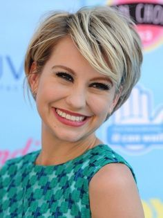 2014 Chelsea Kane's Short Hairstyles: Layered Pixie Hair Cut. Very cute. I would love to go this short again