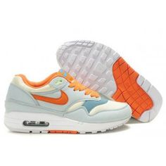 premium selection 1d33d b090a Discount Nike Air Max 1 Womens Glacier Blue Sail Outlet Store Online