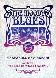 The Moody Blues - Live At the Isle of Wight Festival 1970 Vinyl Lp Vinyl, Vinyl Records, Nights In White Satin, Isle Of Wight Festival, Rock Posters, Music Posters, Band Posters, Old Music, Moody Blues
