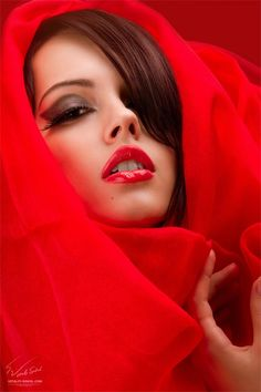 Really red❤️