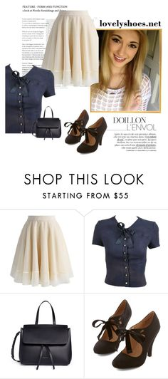 """""""Lainey"""" by shadowxxqueen on Polyvore featuring Chicwish, Chanel and Mansur Gavriel"""